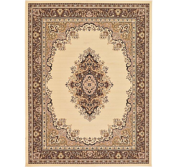 9' x 12' Mashad Design Rug