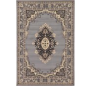 Link to 6' x 9' Mashad Design Rug