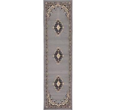 66x249 Mashad Design Rug