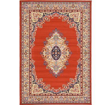 183x274 Mashad Design Rug