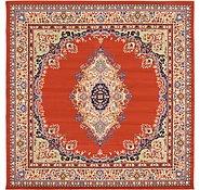 Link to 8' x 8' Mashad Design Square Rug