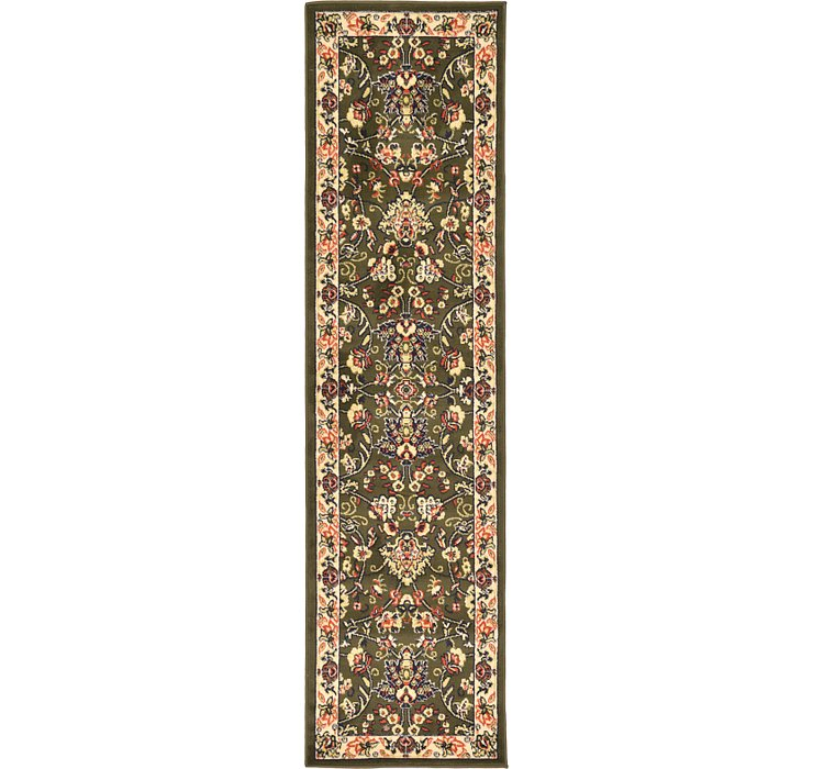 2' 2 x 8' 2 Kashan Design Runner Rug