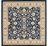 Link to 245cm x 245cm Kashan Design Square Rug
