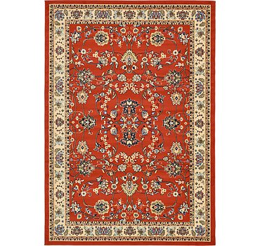 213x305 Kashan Design Rug