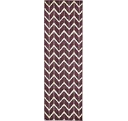 Link to 2' 7 x 8' Chevron Runner Rug