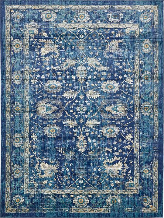 Fabulous Navy Blue 10' x 13' Stockholm Rug | Area Rugs | eSaleRugs UH09