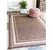 Link to Unique Loom 5' x 8' Outdoor Border Rug