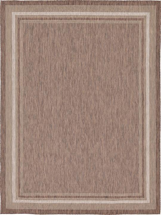 brown 9 39 x 12 39 outdoor rug area rugs irugs uk. Black Bedroom Furniture Sets. Home Design Ideas