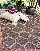 5' x 8' Outdoor Lattice Rug thumbnail image 1