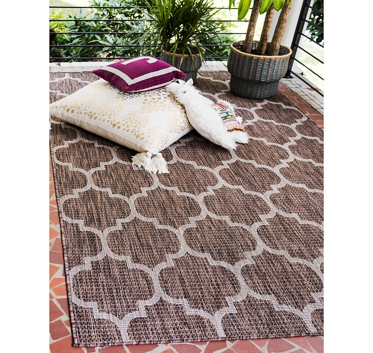 7' x 10' Outdoor Lattice Rug