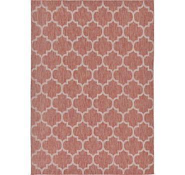 244x345 Outdoor Trellis Rug