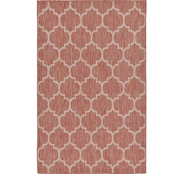 152x244 Outdoor Trellis Rug