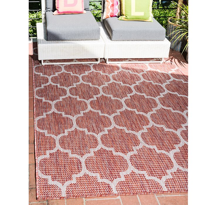 4' x 6' Outdoor Lattice Rug