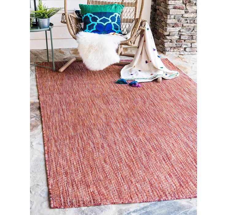 183cm x 275cm Outdoor Solid Rug