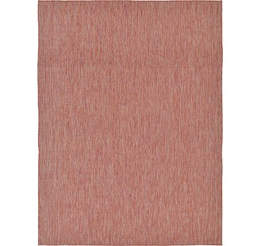 274x366 Outdoor Solid Rug