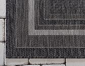 Unique Loom 5' x 8' Outdoor Border Rug thumbnail image 9