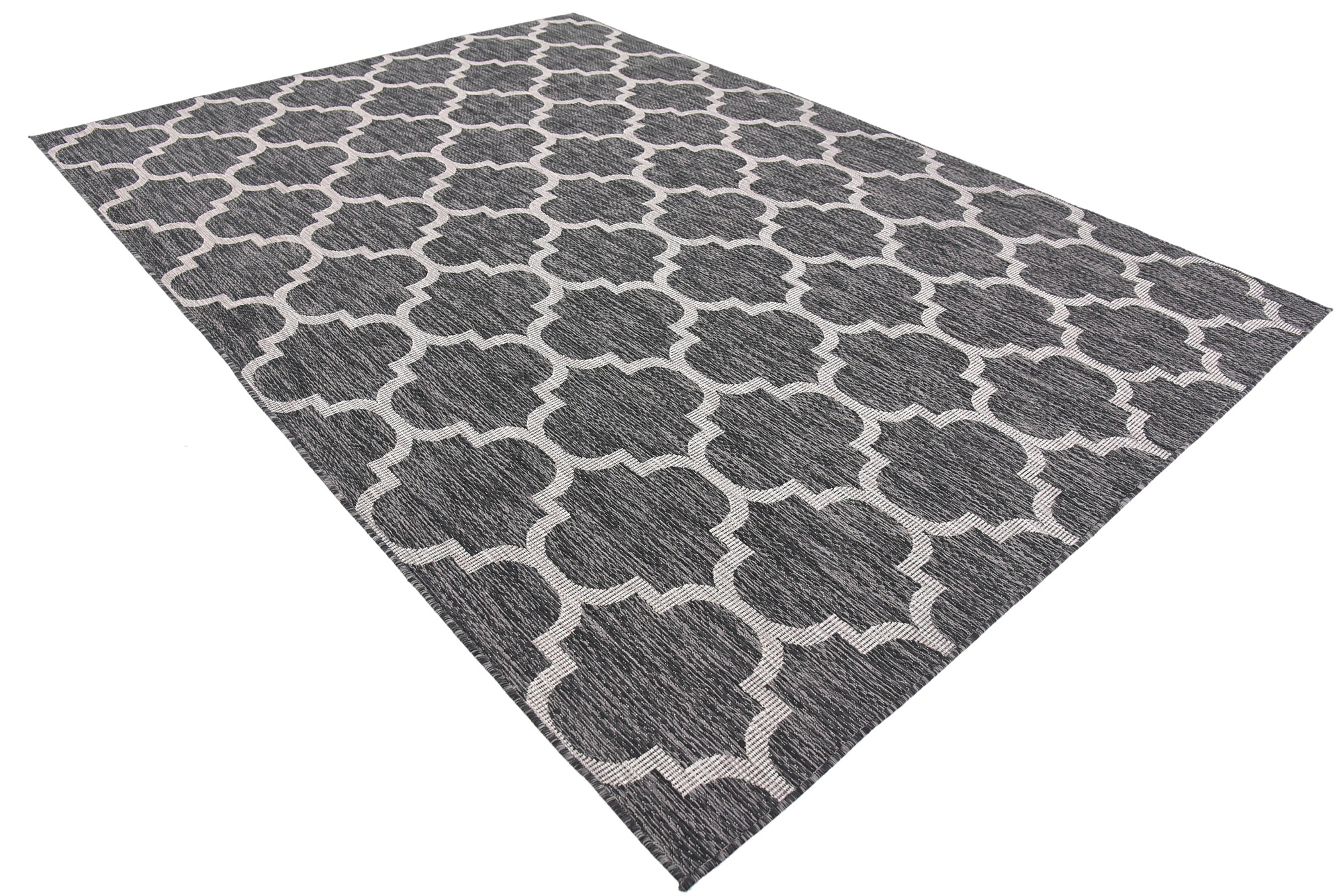 Modern Geometric Contemporary Moroccan Style Carpet Large