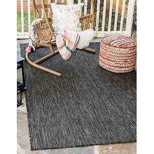 9' x 12' Outdoor Solid Rug