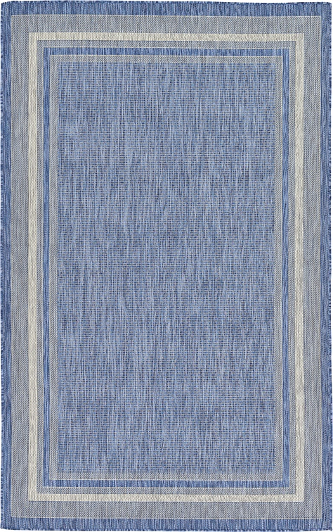 Blue 5 39 X 8 39 Outdoor Rug Area Rugs IRugs UK