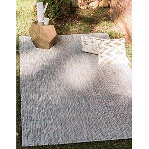 Unique Loom 4' x 6' Outdoor Rug