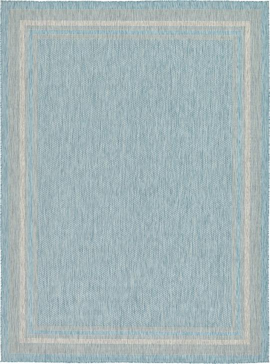Aquamarine 9 x 12 Outdoor Rug Area Rugs
