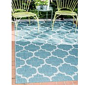 Link to Unique Loom 4' x 6' Outdoor Rug