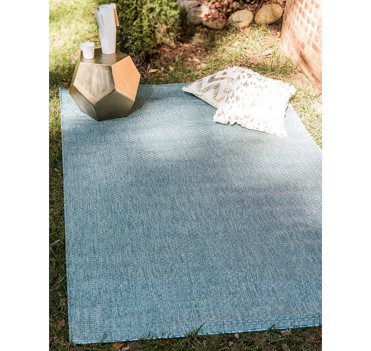 8' x 11' 4 Outdoor Solid Rug