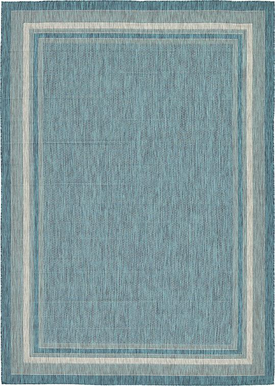 Teal 8 X 11 4 Outdoor Rug Area Rugs Irugs Uk