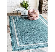 Link to Unique Loom 4' x 6' Outdoor Border Rug
