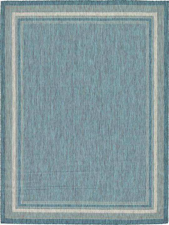 Teal 9 x 12 Outdoor Rug Area Rugs