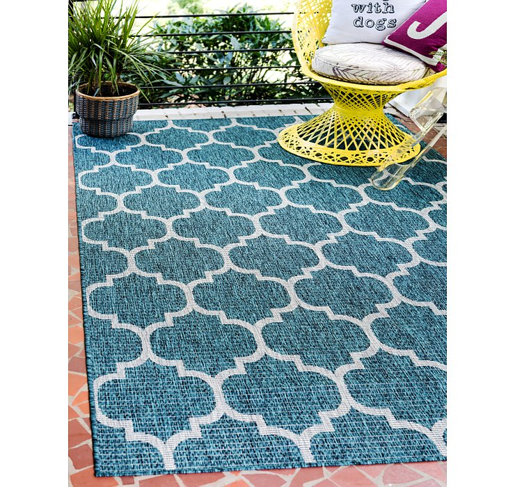 6' x 9' Outdoor Trellis Rug