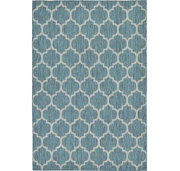 183x274 Outdoor Trellis Rug