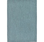 Link to 8' x 11' 4 Outdoor Solid Rug