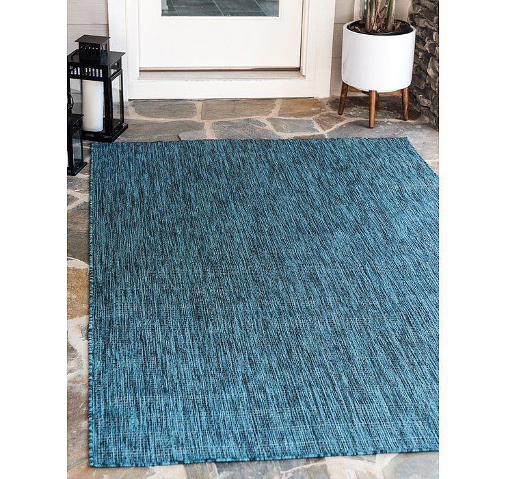 122cm x 183cm Outdoor Solid Rug