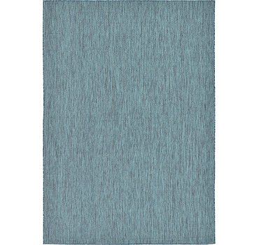 213x305 Outdoor Solid Rug