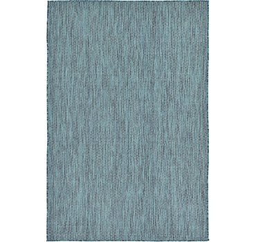 122x183 Outdoor Solid Rug