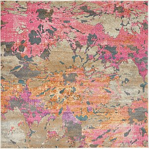 Link to 8' x 8' Aria Square Rug page