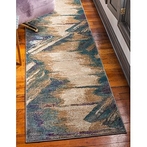 Unique Loom 2' 7 x 10' Aurora Runner Rug