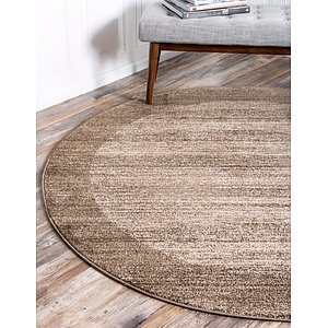Unique Loom 6' x 6' Del Mar Round Rug