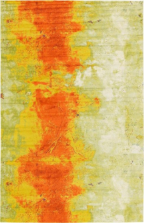 Yellow 10 6 X 16 5 Casablanca Rug Area Rugs Esalerugs