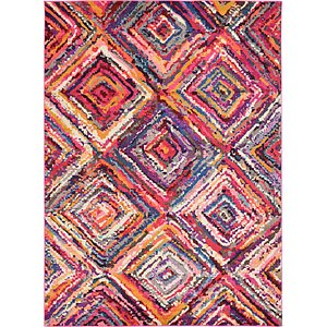 8×10 Orange Casablanca  Rugs