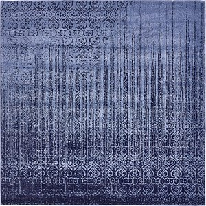 Unique Loom 8' x 8' Del Mar Square Rug