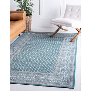 Unique Loom 4' x 6' Williamsburg Rug