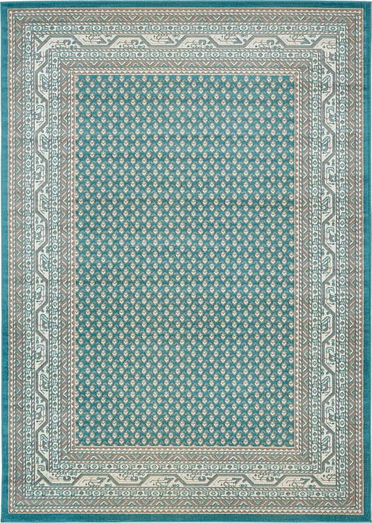 Teal 7 x 10 Tribeca Rug Area Rugs
