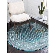 Link to Unique Loom 5' x 5' Williamsburg Round Rug