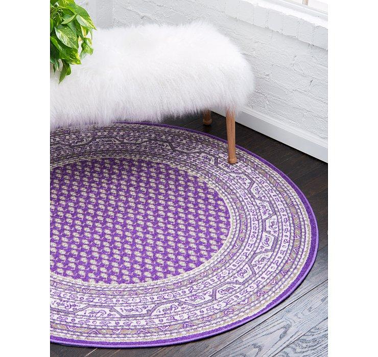Violet SoHo Round Rug