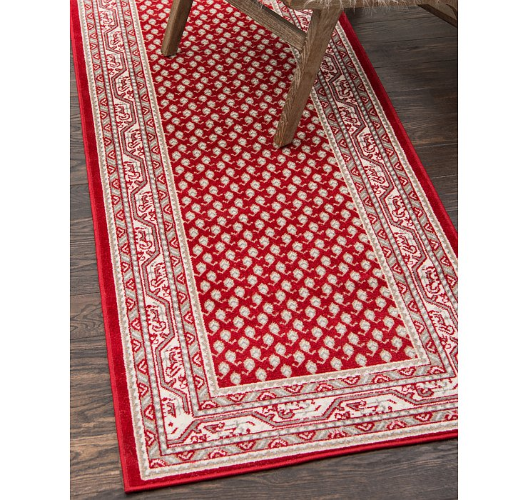 Red SoHo Runner Rug