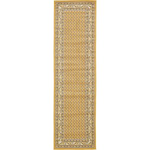 All Runners Yellow Classic  Rugs