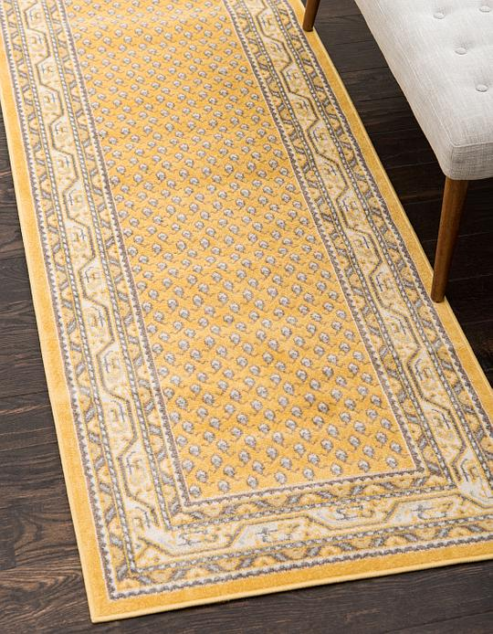 Yellow 85cm X 300cm Tribeca Runner Rug Area Rugs Au Rugs