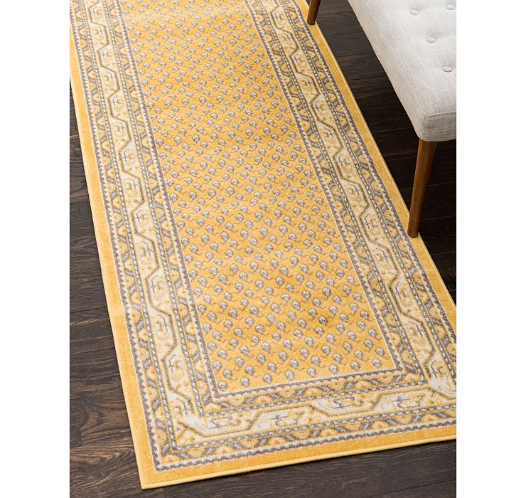 Yellow SoHo Runner Rug